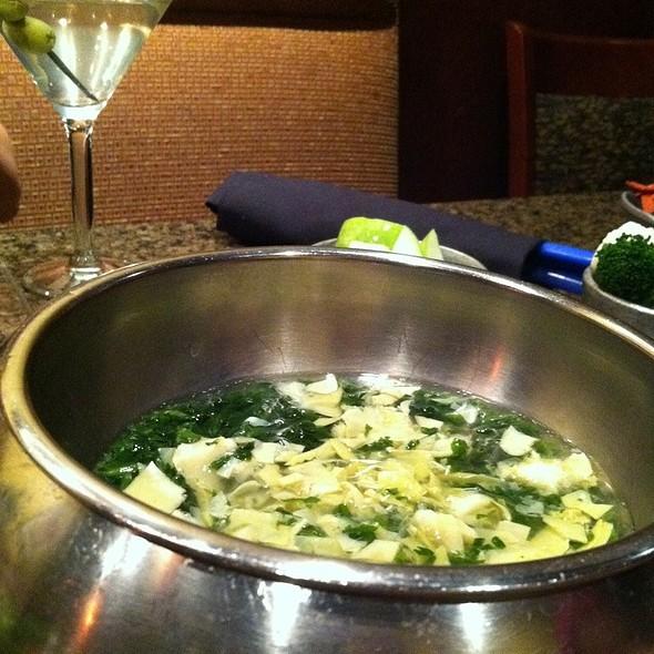 Spinach Artichoke Cheese Fondue @ The Melting Pot