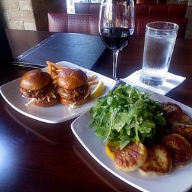 Crab Cakes - Flight Restaurant & Wine Bar, Glenview, IL