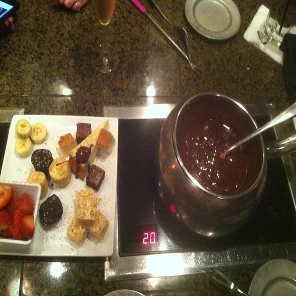 Chocolate Fondue @ The Melting Pot