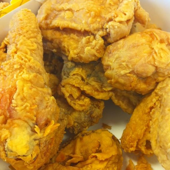 fried chicken @ Hebron Parkway Chicken Express