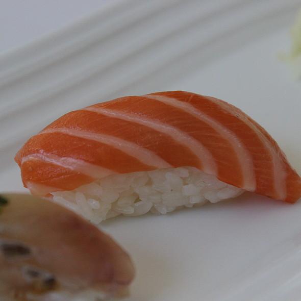 Salmon - Hamamori Restaurant and Sushi Bar, Costa Mesa, CA
