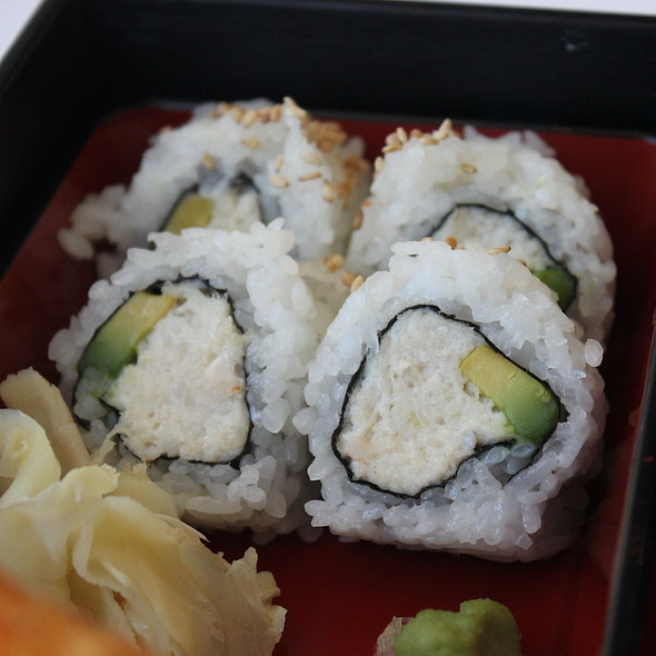 Avocado California Rolls  - Hamamori Restaurant and Sushi Bar, Costa Mesa, CA
