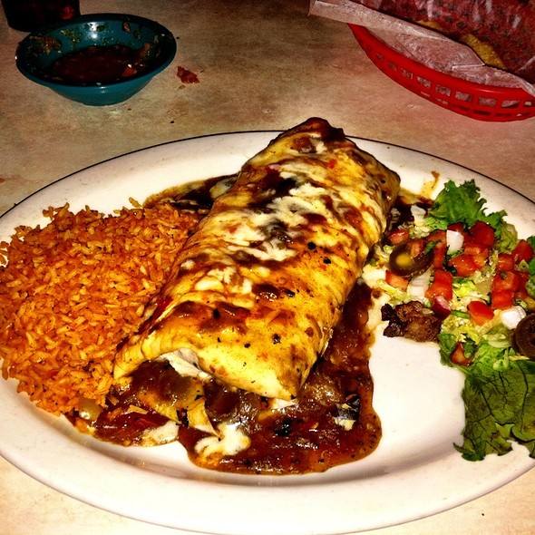 Fajita Burrito, Steak @ Chuys