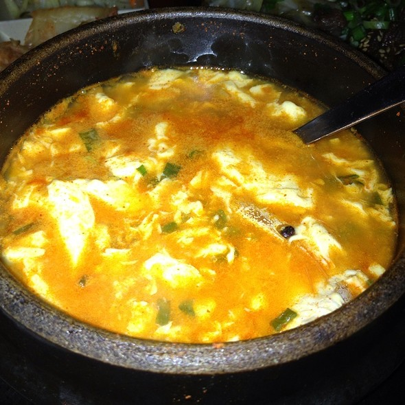 Soft Tofu Soup @ Tonight Soju Bar