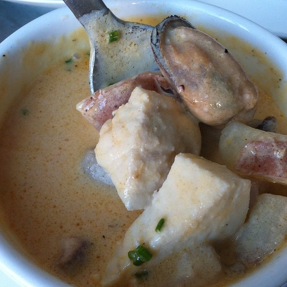 Seafood Chowder @ Bar Crudo