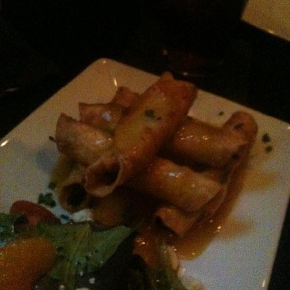 Duck Flautas @ Aroma Restaurant