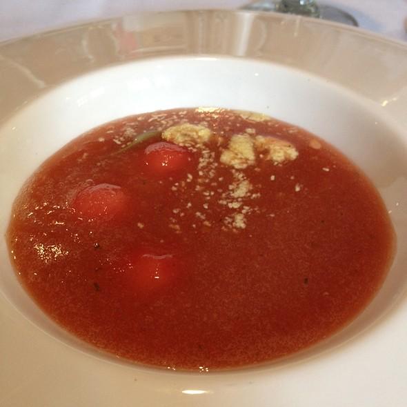 Texas Watermelon Gazpacheo - Las Canarias - Omni La Mansion, San Antonio, TX