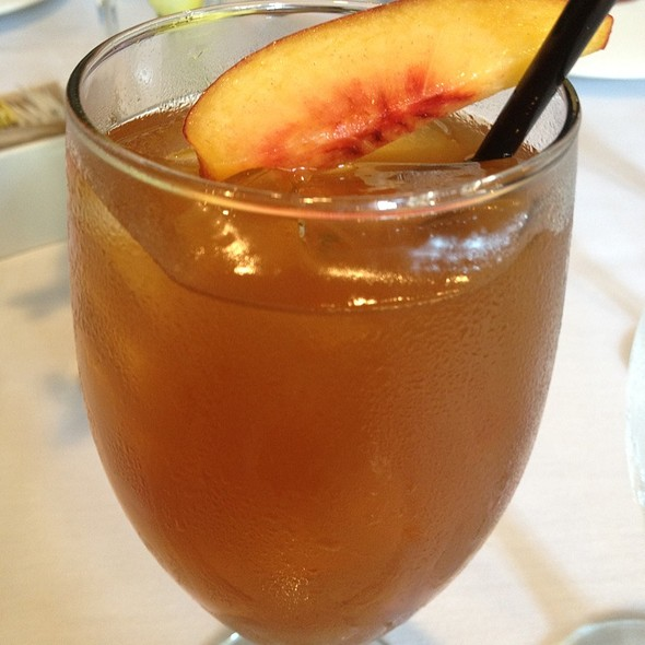 Peach Ice Tea - Las Canarias - Omni La Mansion, San Antonio, TX