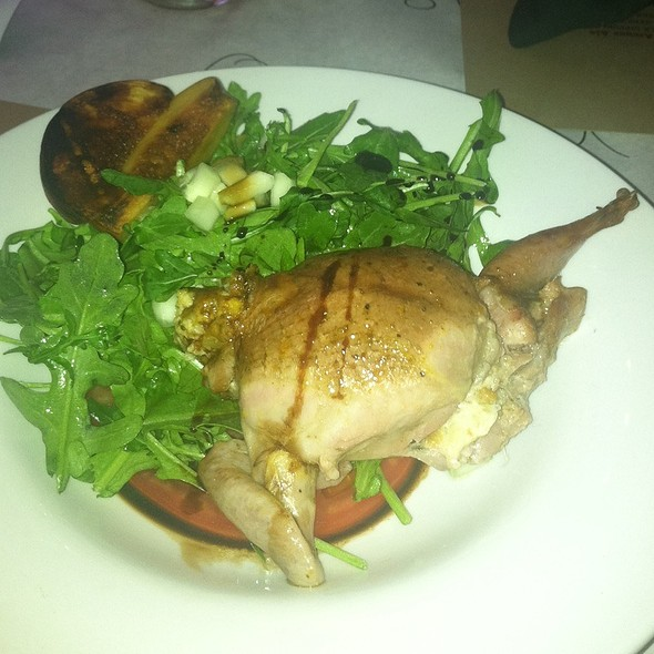 Arugula Salad With Squab @ Smoke House Cafe