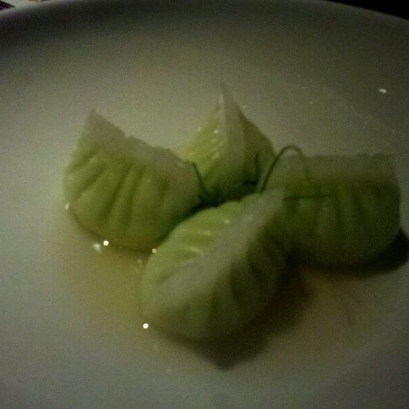 Edamame Dumplings @ Buddakan