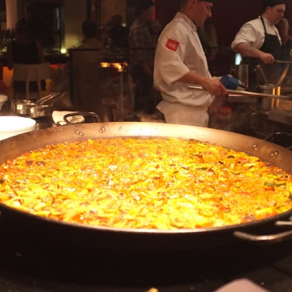 Paella @ Jaleo - The Cosmopolitan of Las Vegas