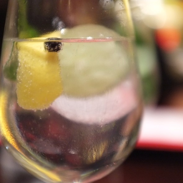 Gin Tonic @ Jaleo - The Cosmopolitan of Las Vegas