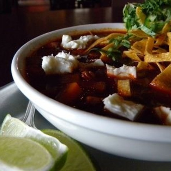 Chicken Tortilla Soup @ Red Pepper Taqueria