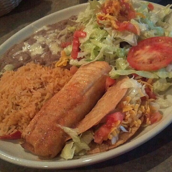 Combo Plate @ Acapulcos