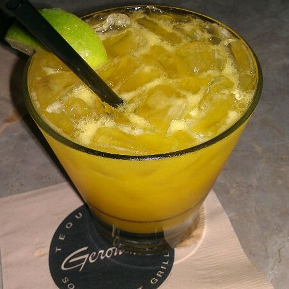 Spicy Mango Margarita @ Geronimo