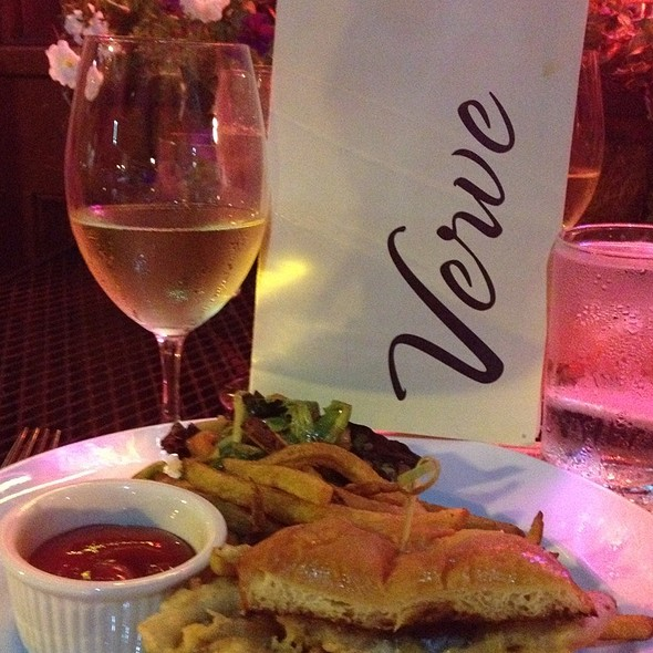 Soft Shell Crab Sandwich - Verve Restaurant, Somerville, NJ