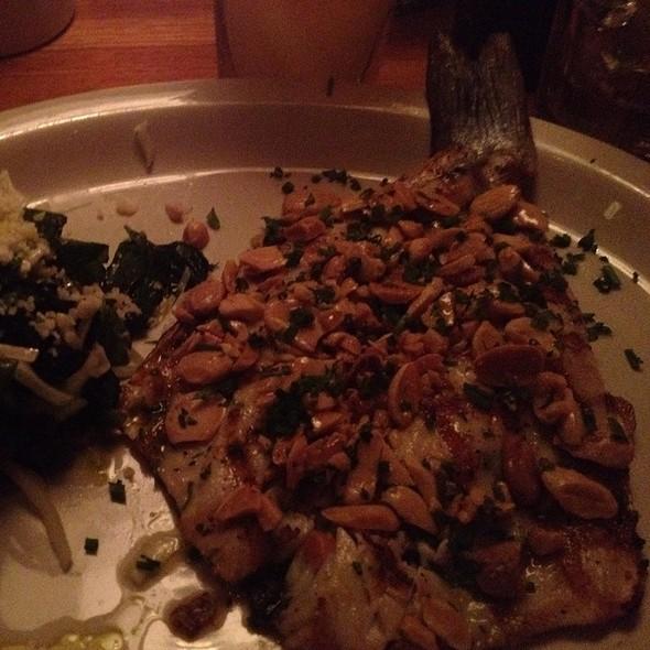 Loup De Mer @ Houston's Restaurant
