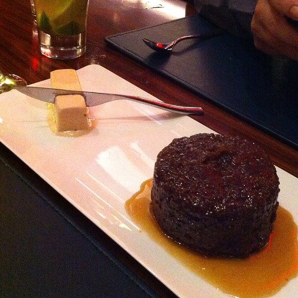 Sticky Toffee Pudding Cake - Gordon Ramsay Steak - Paris Las Vegas, Las Vegas, NV