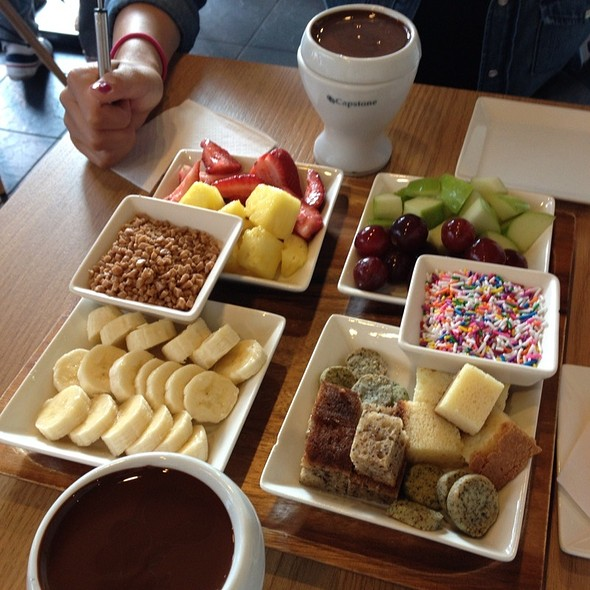 All You Can Eat Chocolate Fondue