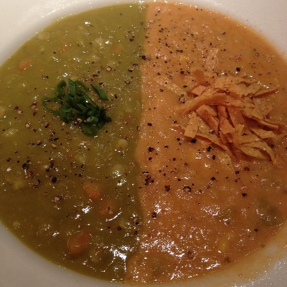 Two Soups In A Bowl @ California Pizza Kitchen