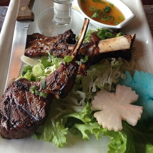 BBQ Lamb @ Benjarong Thai Cuisine