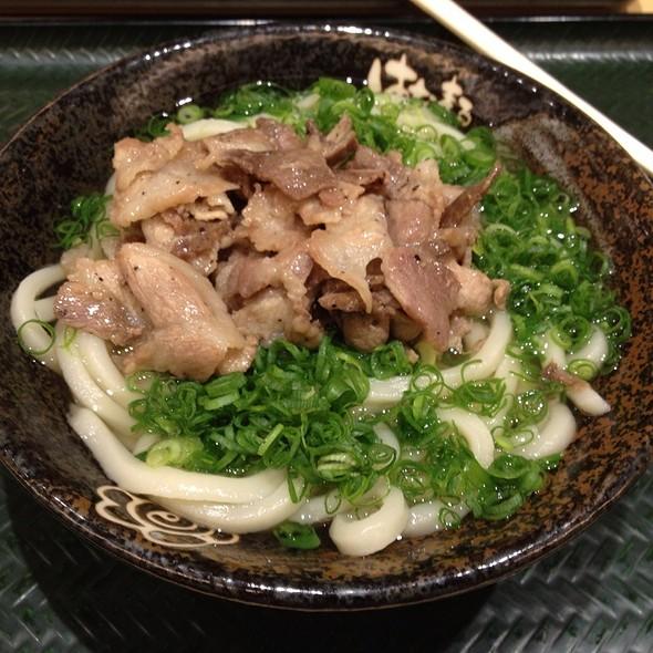 Negi Udon @ はなまるうどん 秋葉原昭和通り店