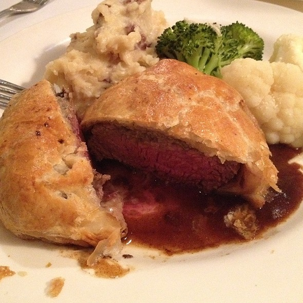 Beef Wellington - Petite Auberge Restaurant, Atlanta, GA