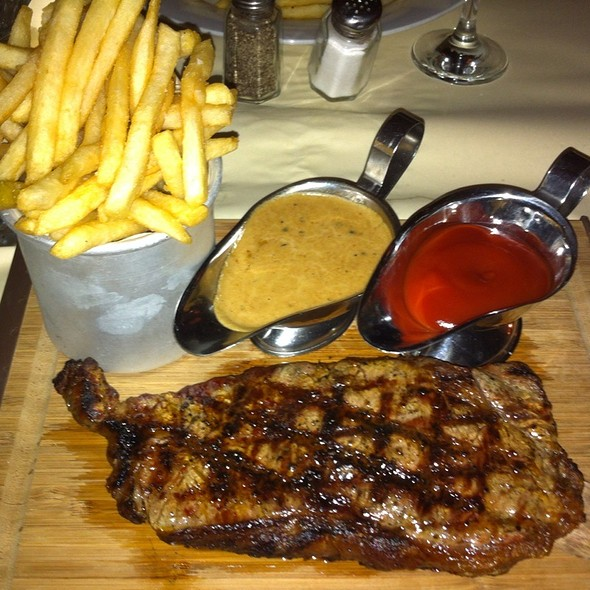 Black Angus Sirloin - Match 65 Brasserie (formerly Paris Match), New York, NY