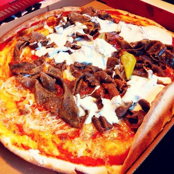 Kebab Pizza @ Pizzeria Arena