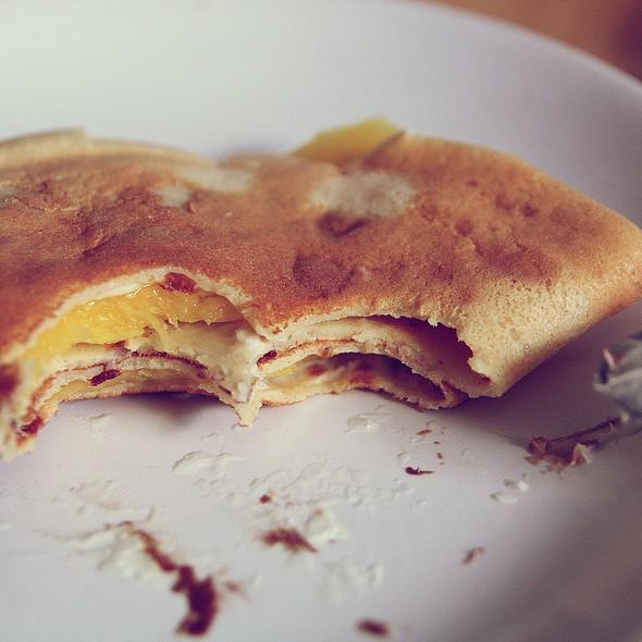 Cinnamon Pancakes @ Alek's Penthouse:)