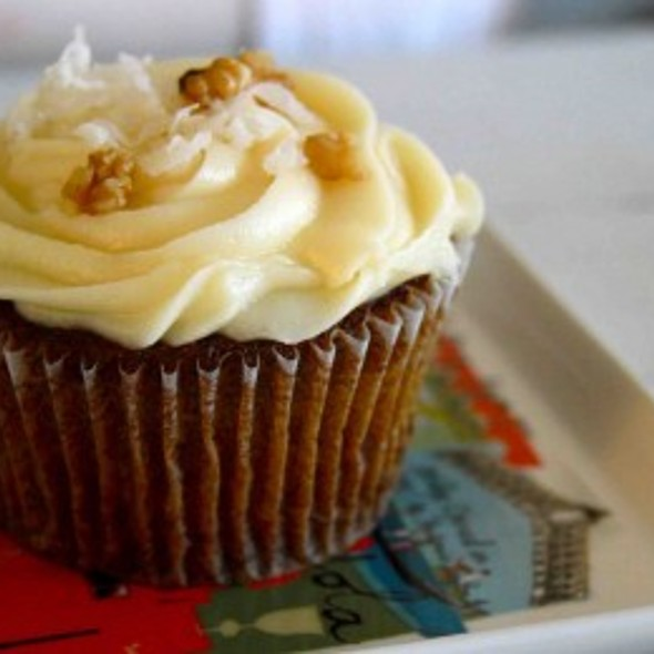 Carrot Cupcakes @ idreamofsweets