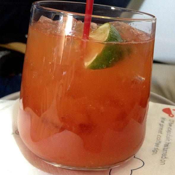 Bloody Mary No.2 @ Delta 86 MIA-JFK flight