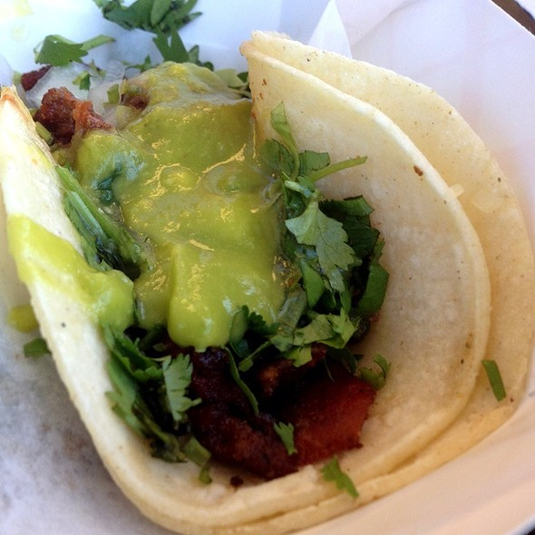 Adobada Taco @ Chandos Tacos