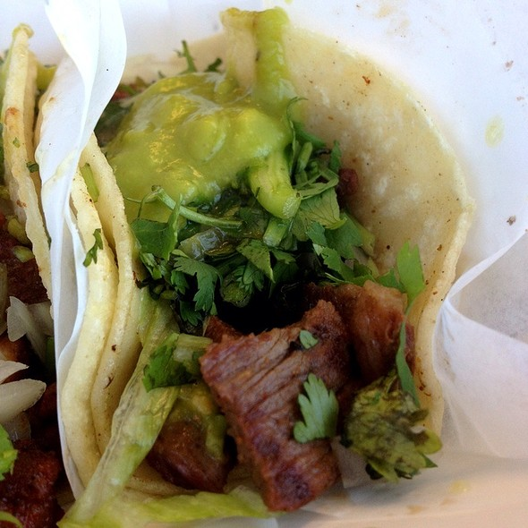 Carne Asada Taco @ Chandos Tacos