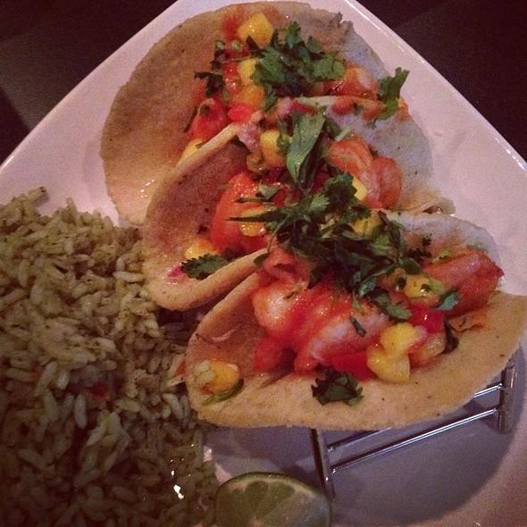 Shrimp Tacos And Cilantro Rice