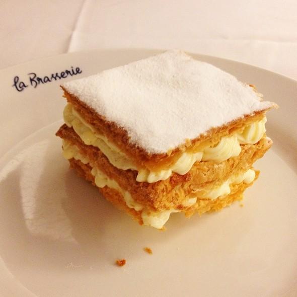 Millefeuille @ La Brasserie Erick Jacquin