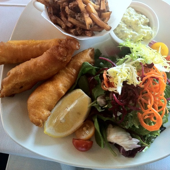 Halibut Fish and Chips - Towne Hall, Pointe-Claire, QC