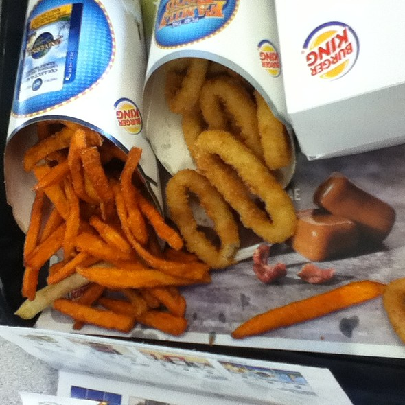 Burger King Menu - Foodspotting