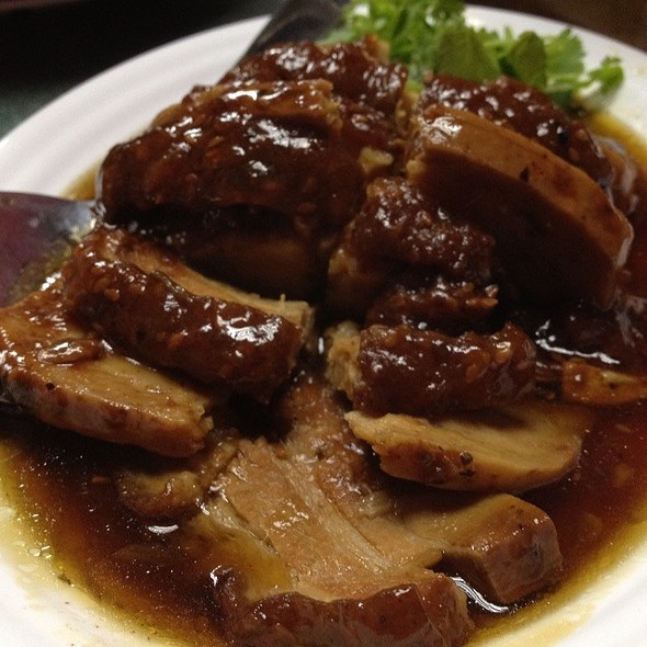 Braised Pork Belly With Yam @ Goon Wah Restaurant