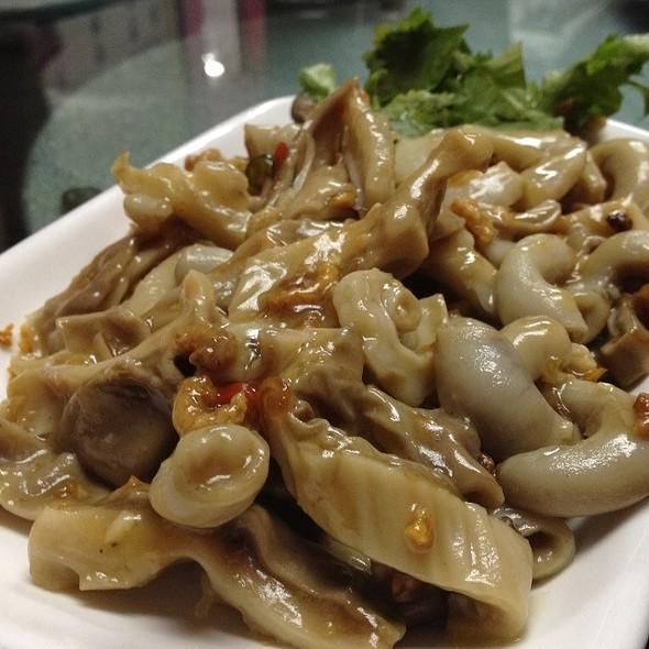 Stir Fried Pork Maw And Intestines With Dried Shrimp @ Goon Wah Restaurant