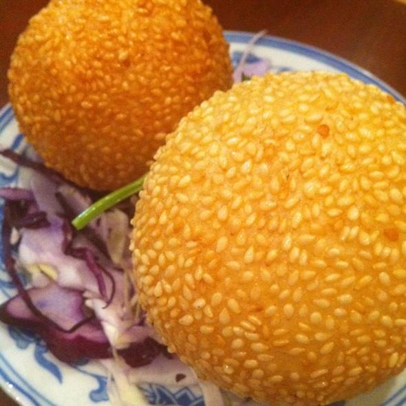 Sesame Balls @ Lucky Bamboo Restaurant
