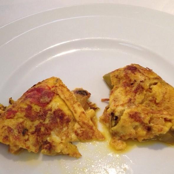 Tortilla Espanola Mariscos