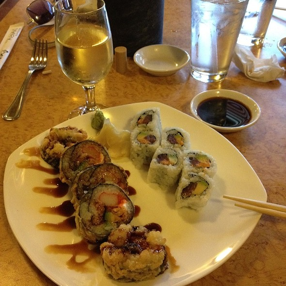 Snow Roll & Mexican Roll @ Genji Japanese Steak House Inc
