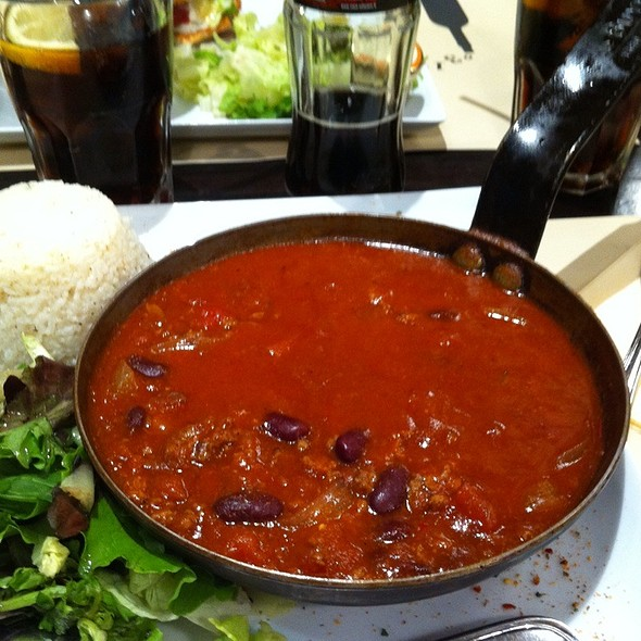 chili con carne @ Moutarde Street