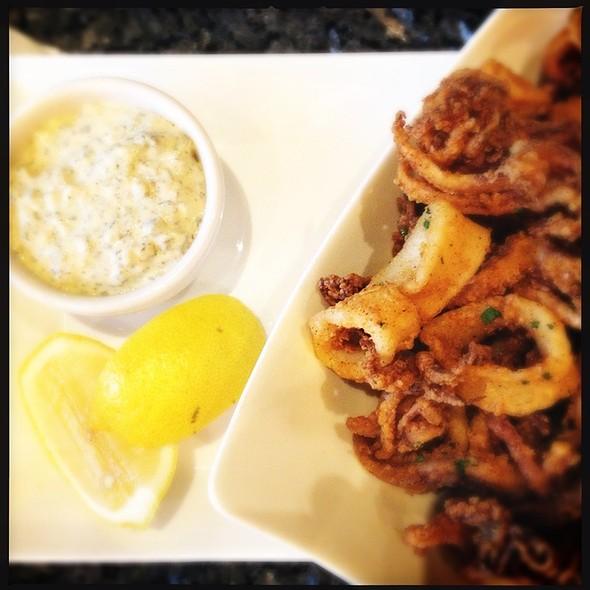 Calamari With Lemon Tarragon Remolaude - finn & porter, Austin, TX