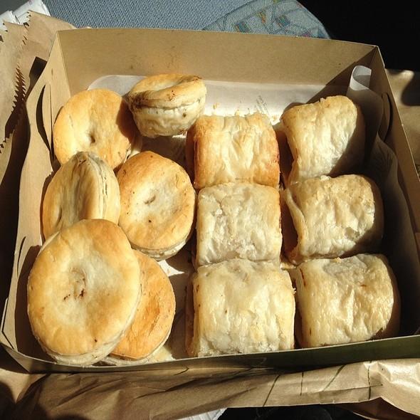 Savoury Pies @ Banjo's