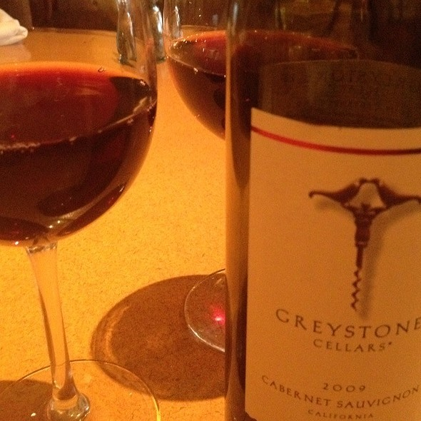 2009 Greystone Cabernet Sauvignon - Morton's The Steakhouse - Dallas, Dallas, TX