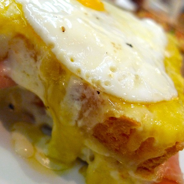 Croque Madame @ Wildflour Café + Bakery