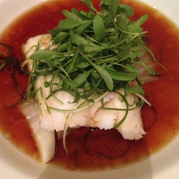 Fried Fish with Ginger & Scallion @ Billy Kwong