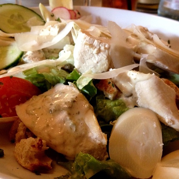 Chicken Caesar Salad (French Style) @ Les Trois Chevaliers